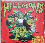 "LP ✦ THE HILLMANS ✦ ""Taking the Trash Back In"". Pure Rockin' Trash!!. Hear♫"